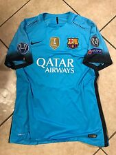 Barcelona Messi Argentina Player Issue Match Unworn UEFA Jersey Football Shirt