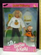 Mattel Barbie Doll Special Edition Happy Halloween Barbie & Kelly Gift Set NIB