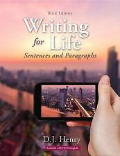 Writing for Life: Sentences and Paragraphs (3rd Edition)