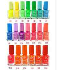 12 colors series of Fluorescent Neon Luminous Gel Nail Polish for Glow in Dark