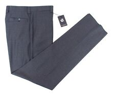Mens SARTORE Blue Reda Super 130's Wool Flat Front Dress Pants 36 NWT $325!