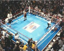 MIKE TYSON vs MIKE SPINKS 8X10 PHOTO BOXING PICTURE TYSON KO's SPINKS AERIAL