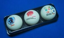 1997 Nittaku 44th World Table Tennis Championships Commemoration Ball w/ Case