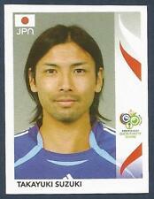 PANINI FIFA WORLD CUP-GERMANY 2006- #450-JAPAN-TAKAYUKI SUZUKI