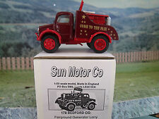 1/50 SUN MOTOR Co (England) #178 Bedford OS Come to the Fair , handbult  model