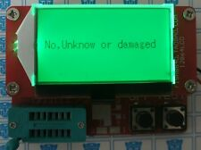 New Mega328 Transistor Tester Diode Triode Capacitance ESR Meter MOS/PNP/NPN