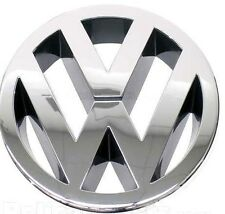 VW JETTA III POLO IV V TOURAN FRONT BONNET GRILLE EMBLEM LOGO BADGE GENUINE