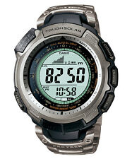 CASIO TITANIUM PROTREK TOUGH SOLAR TRIPLE SENSOR PRG-110T-7 WATCH PRG-110T-7VDR