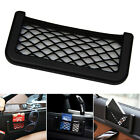 Black Car Universal Resilient Seat Storage Net Bag Holder Pocket Organizer