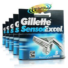 5x Gillette Sensor Excel Lame di ricambio, pacco da 5
