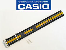 CASIO G-SHOCK GA-100MC Watch Band strap nylon webbing Cloth Black Orange Gray