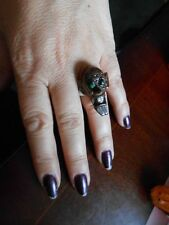 Fancy Dress EVIL MONSTER RING ADJUSTABLE ADULT OR CHILD  BNWOT SPOOKY