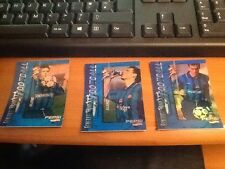 3 Rare 1997 Pepsi Cola KFC Thailand Laurant Blanc Cards 2 Silver 1 Gold