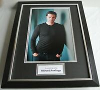 Richard Armitage SIGNED FRAMED Photo Autograph 16x12 display TV Film Spooks COA