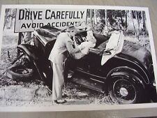 1932 FORD ROASTER WRECK  MOVE SCENE ?  12 X 18 LARGE PICTURE   PHOTO