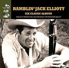 Ramblin' Jack Elliott SIX (6) CLASSIC ALBUMS Country Style SECOND FRET New 4 CD