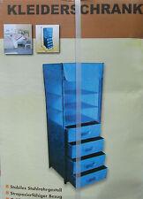 Falt-Kleiderschrank mit Schubladen und Fächern ,ca 125 x 46 x 41 cm ,NEU,OVP