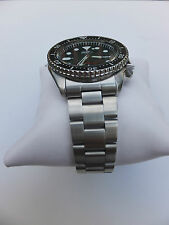 22mm CURVED STAINLESS STEEL OYSTER BRACELET FIT SEIKO Seiko 7002-7000, 6309-7290