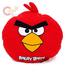 "Angry Birds Red Bird Plush Doll Pillow Cushion - 17"" Large Rovio Licensed"
