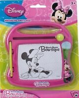 Disney Minnie Mouse Magnetic Sketcher Pen Disney Character Children Kids Toy Gif