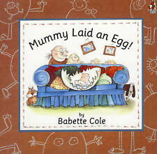 Mummy Laid an Egg-Babette Cole - Hardback Book