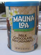 HAWAII HAWAIIAN MAUNA LOA MILK CHOCOLATE MACADAMIA NUTS ~ 5.5 OZ CAN