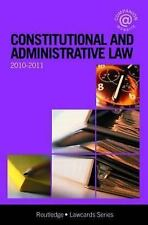 Law Cards: Constitutional and Administrative Lawcards 2010-2011 by Routledge...