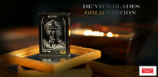 """MAZZO DI CARTE DA GIOCO BLADES """"Gold Edition"""" Deck,POKER SIZE"""