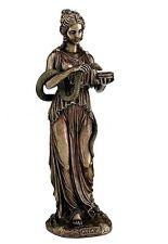"10.75"" Hygieia Greek Goddess Health & Sanitation Statue Figure Sculpture Hygiea"