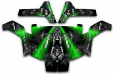 Polaris RZR 800 UTV Wrap Graphics Decal Kit 2007 2010 Reaper Revenge Green