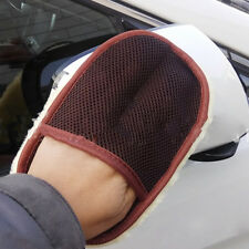 Super Soft Faux Wool Car Wash Mitt Deep Pile Car Cleaning Wash Glove Brushes