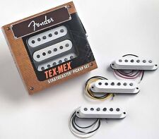 GENUINE FENDER Tex-Mex STRATOCASTER Pickups 3 Set Great Strat Sound !
