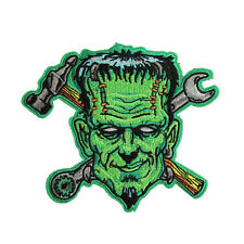 Spare Parts Frankenstein Monster Iron/Sew On Patch Embroidered Jacket Applique