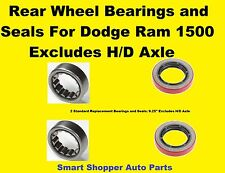 Rear Wheel Bearings and Seals For 1994 - 2006  Dodge Pickup Ram 1500  a set of 2