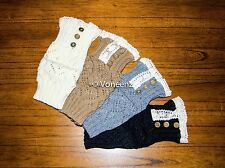 Women's Fashion Crochet Knitted Lace Trim Boot Cuffs/Toppers:  FREE SHIPPING