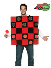 Brand New Unisex Mens Ladies Draughts Chinese Checkers Fancy Dress Game Costume