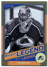2012-13 O-Pee-Chee PATRICK ROY Gold Marquee Legends #G3 Rare SP HOF OPC BV $30