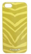 COACH IPHONE 5 Molded Case In Lime Zebra Print (F67753 ) - MSRP $38 NWB
