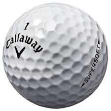 24 Callaway Supersoft Mint Used Golf Balls AAAAA