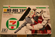 GUNDAM MS-06S ZAKU II  SEVEN ELEVEN LTD EDITION 1/144 scale PLASTIC MODEL KIT