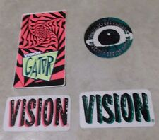 Vision Mark Rogowski Gator logo decal lot Street Wear Gonz old school skateboard
