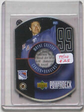 """1999/00 Gretzky UD """"PowerDeck"""" Insert Card PD7"""