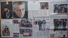Matt LeBlanc - Top Gear - clippings/cuttings/articles pack