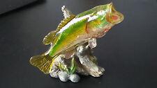 Beautiful Vintage BASS Fish Figurine