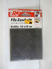 fix -o-moll 60/07 Filz - Zuschnitt selbstklebend 10x10cm  WT3331