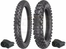 Sedona 2.50-10 Front & 2.75-10 Rear Motocross Tires & Tubes Combo Set Pit Bike