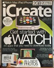 icreate #146 Best Magazine For Your Mac iwatch iphone 2015 FREE SHIPPING!