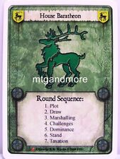 A Game of Thrones LCG - 1x House Baratheon - Westeros Draft Pack Starter