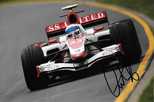 Anthony Davidson SIGNED F1 Super-Aguri-Honda SA07, 2007 Grand Prix Season
