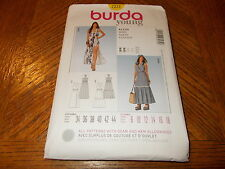 Burda Young Pattern 7231 Ms Halter Style Dress w/Skirt Variations Sz 8-18